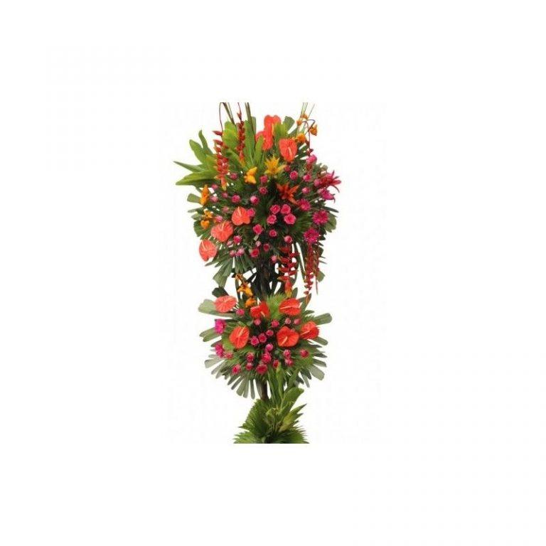 پایه گل آنتوریوم و رز