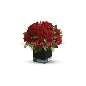 گل رز سرخ