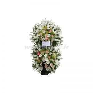 پایه گل آنتوریوم و شب بو
