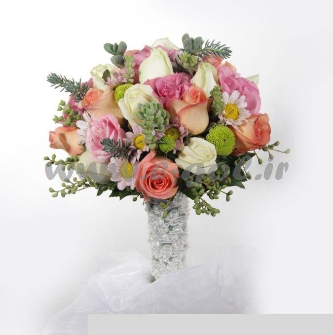 دسته گل عروس گلناز