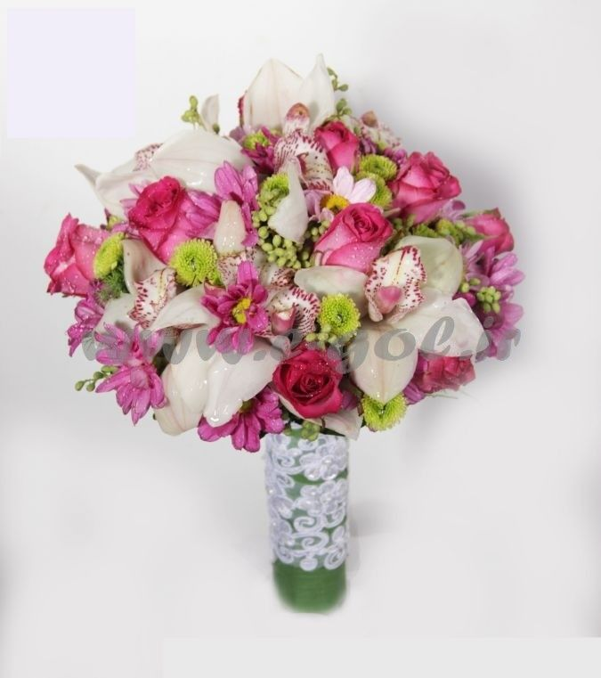 دسته گل عروس پروانه