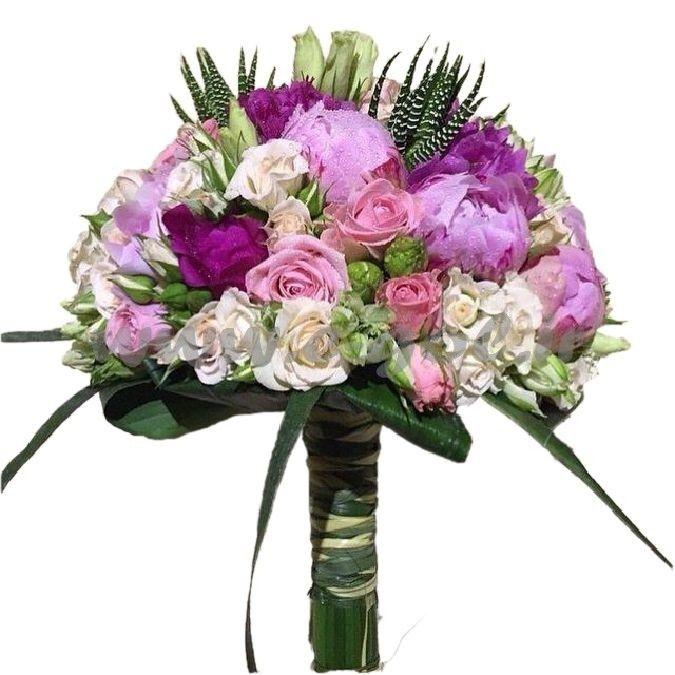 دسته گل عروس ارغوان