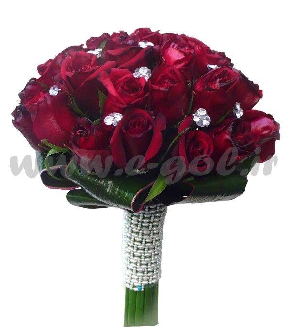 دسته گل عروس آیناز