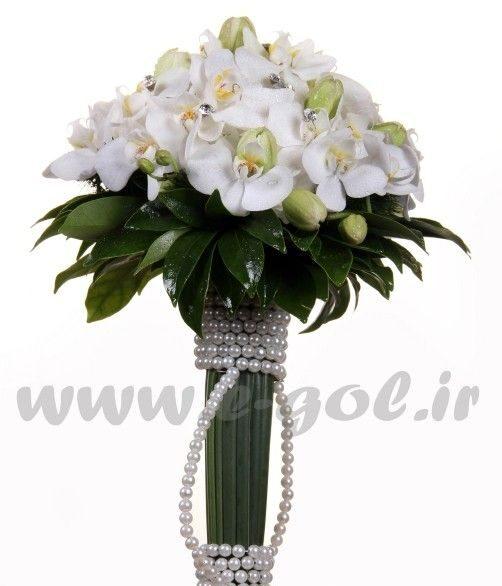 دسته گل عروس کیانا