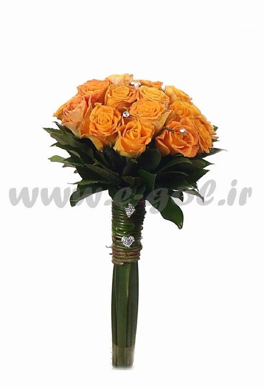 دسته گل عروس افسانه