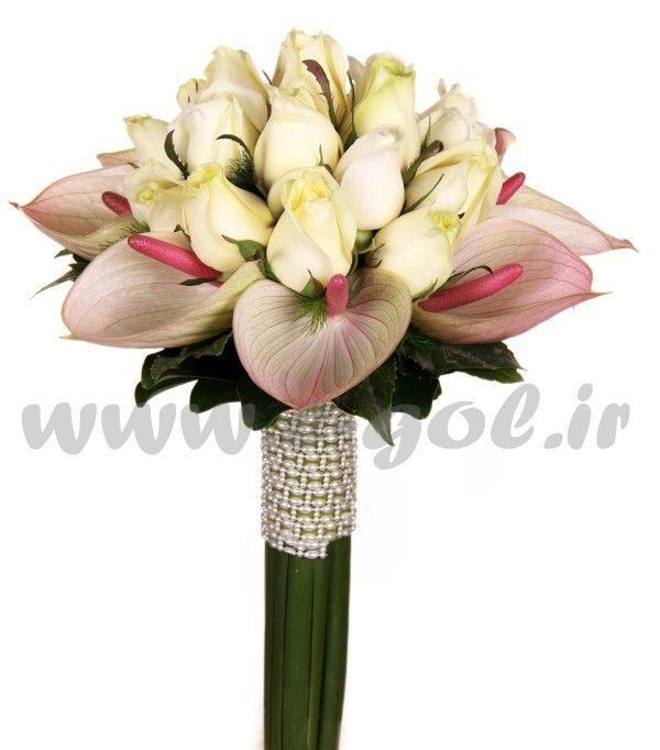 دسته گل عروس ایرسا