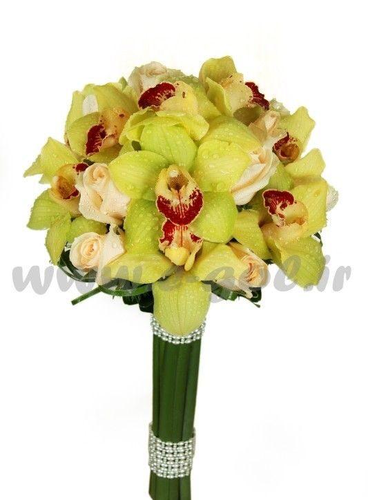 دسته گل عروس ایلیکا