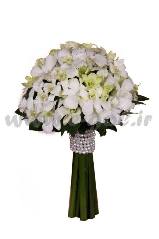 دسته گل عروس مهرسا