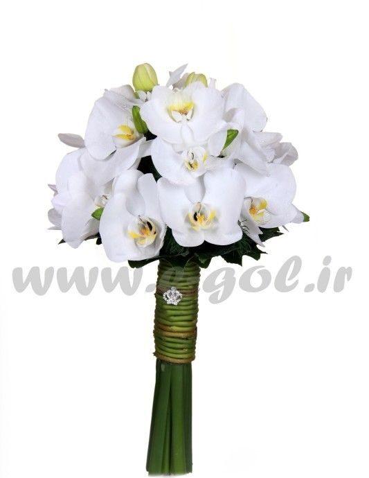 دسته گل عروس درسا