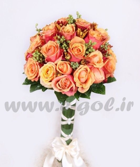 دسته گل عروس مارال