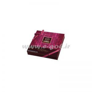 شکلات کادویی الیت مدل پرالین صورتی