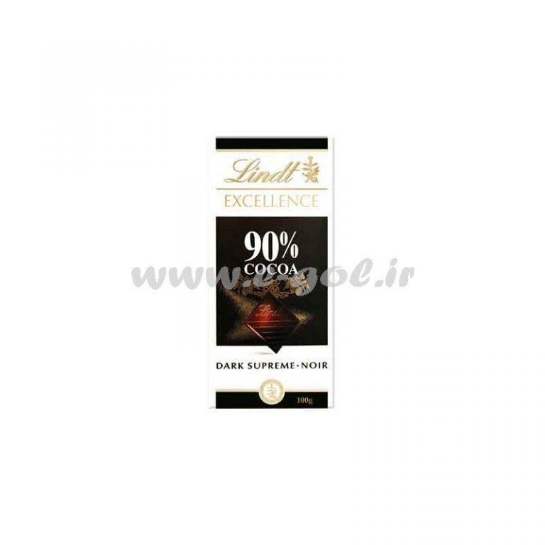 شکلات تلخ لینت ۹۰%