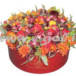 جعبه گل مهرسا