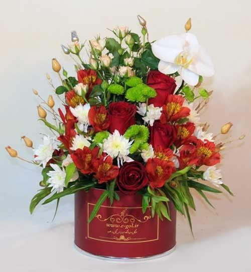 جعبه گل پرنیا